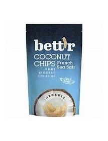 Bett`r Kokosnuss Chips French Salt 70 g (LOW CARB)